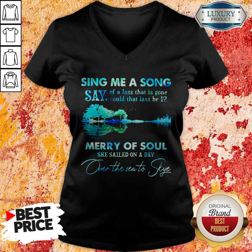 Pretty Sing Me A Song Say Merry Of Soul River V-neck