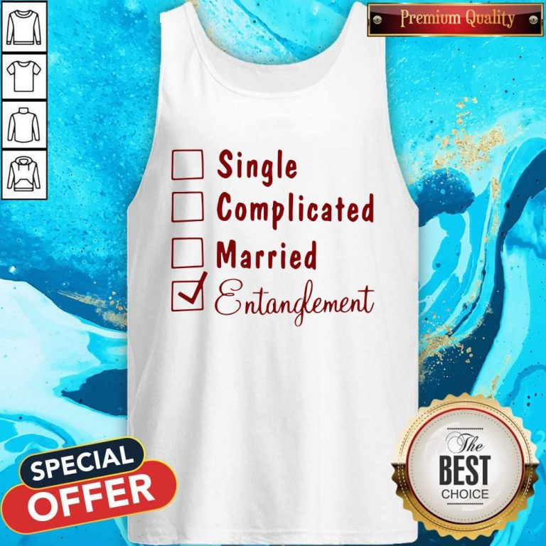 Single Complicated Married Entanglement Tank Top