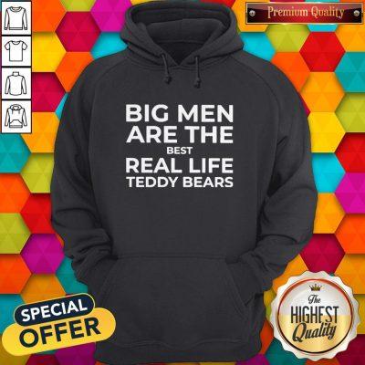 Top Big Men Are The Best Real-life Teddy Bears Hoodie