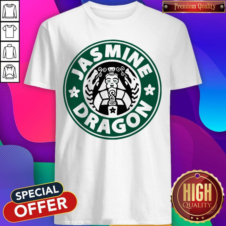 Top The Jasmine Dragon Ladies Fitted Shirt
