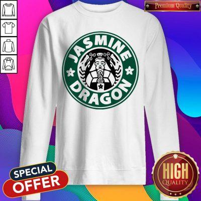 Top The Jasmine Dragon Ladies Fitted Sweatshirt