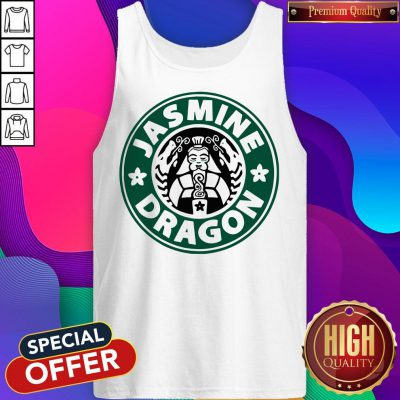 Top The Jasmine Dragon Ladies Fitted Tank Top