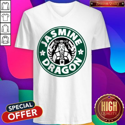 Top The Jasmine Dragon Ladies Fitted V-neck