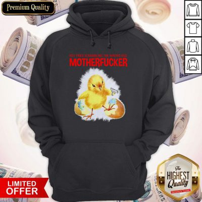 You Tried Scambling The Wrong Egg Mothefucker Hoodie
