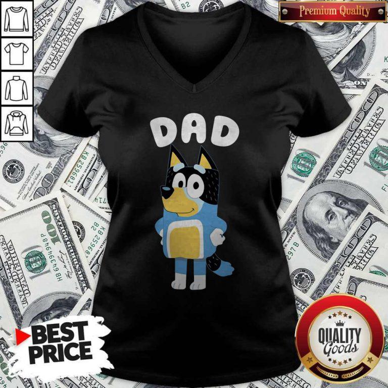 Dad Bluey TV Series V-neck