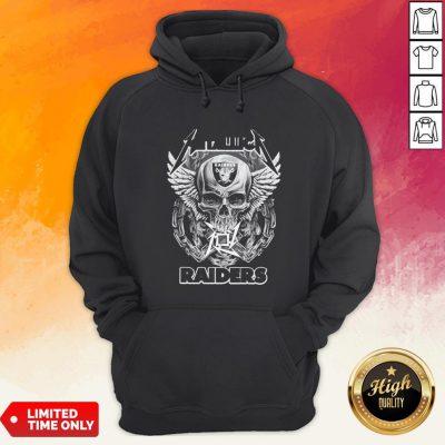 Good Skull Metallic Raiders Hoodie