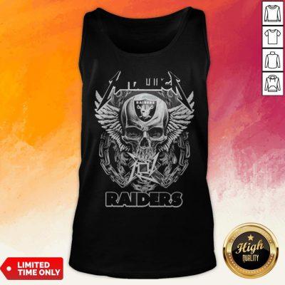 Good Skull Metallic Raiders Tank Top