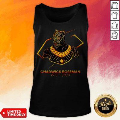 Grand RIP Chadwick Boseman 1977-2020 Tank Top