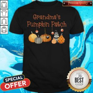 Grandma Pumpkin Patch Halloween Custome Shirt