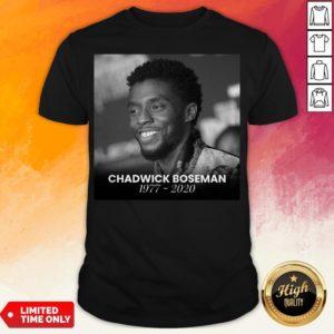 King T'Challa To Life In Black Panther Chadwick Boseman Shirt