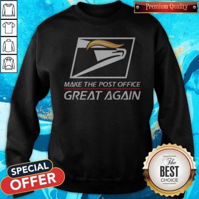 Logo USPS Make The Post Office Great Again Sweatshirt