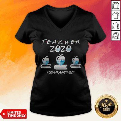 Perfect Teacher Quarantined 2020 V-neck