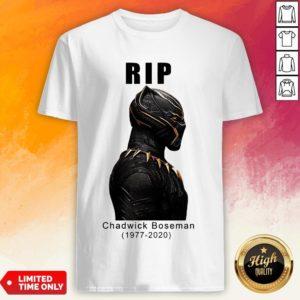 RIP Black Panther's Chadwick Boseman 1977 2020 Shirt