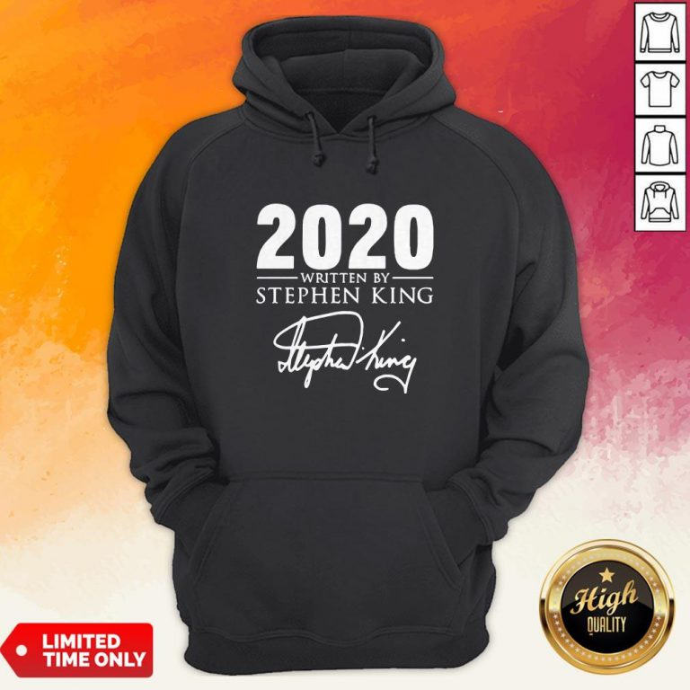 2020 Written By Stephen King Signature Hoodie