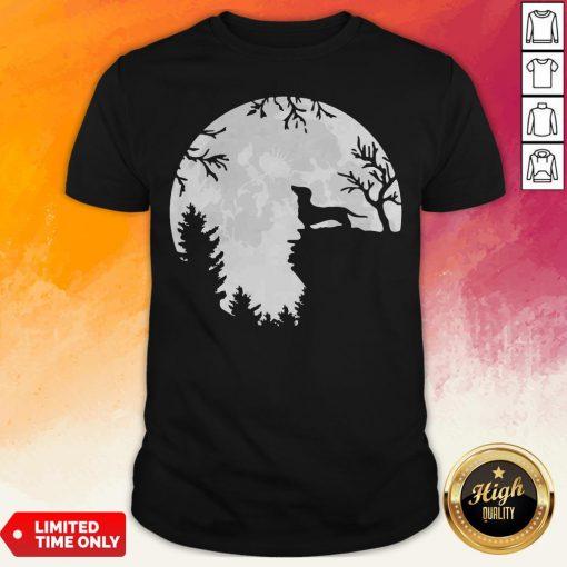 Awesome Dachshund Moon Light Shirt