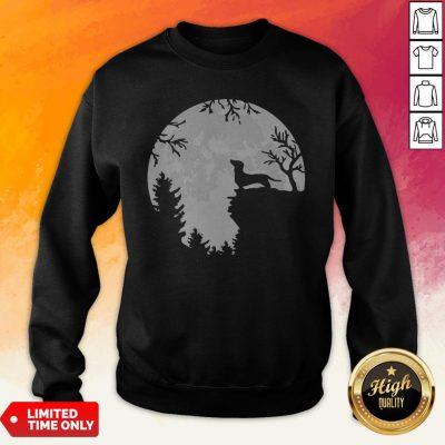 Awesome Dachshund Moon Light Sweatshirt