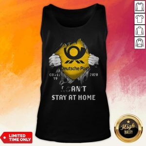 Blood Inside Me Deutsche Post Covid 19-2020 I Can't Stay At Home Tank Top