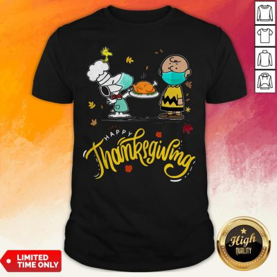 harlie Brown Snupy And Woodstock Happy Thanksgiving Shirt
