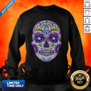 Day Of Dead Dia De Muertos Sugar Skull Sweatshirt