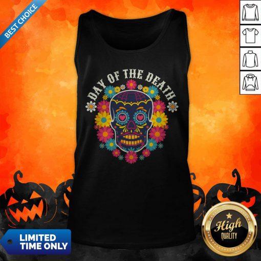Day Of The Dead Dia De Muertos Sugar Skull Tank Top