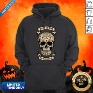 Day Of The Dead Skull Dia De Los Muertos Vintage Hoodie
