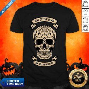 Day Of The Dead Skull Dia De Los Muertos Vintage Shirt