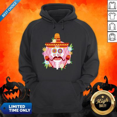 Day Of The Dead Sugar Skull Mexican Holiday Hoodie