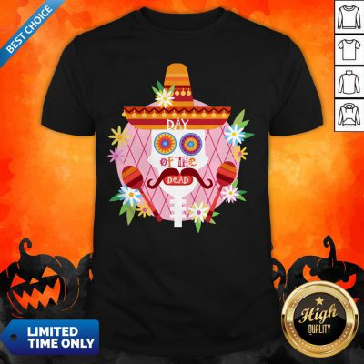 Day Of The Dead Sugar Skull Mexican Holiday Shirt