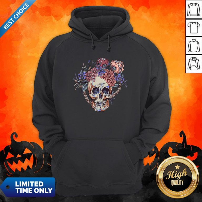 Day Of The Dead Vintage Sugar Skull Hoodie