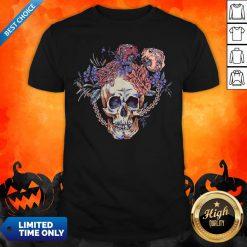 Day Of The Dead Vintage Sugar Skull Shirt