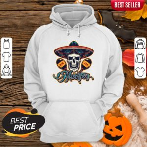 Dia De Los Muertos Day Of Dead Skull Mexican Holiday Hoodie