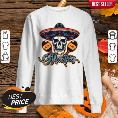 Dia De Los Muertos Day Of Dead Skull Mexican Holiday Sweatshirt