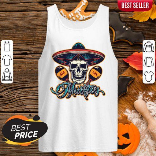 Dia De Los Muertos Day Of Dead Skull Mexican Holiday Tank Top