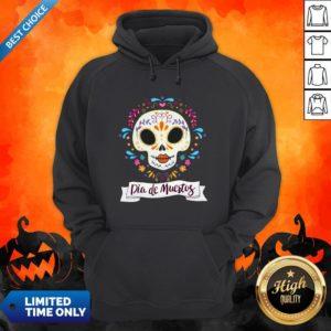 Dia De Muertos Day Of The Dead Sugar Skull Hoodie