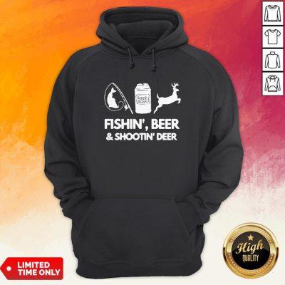 Fishin Beer And Shootin Deer 2020 Hoodie