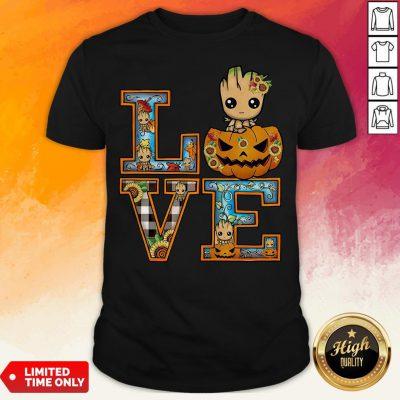 Good Groot Pumpkin Love Halloween Shirt