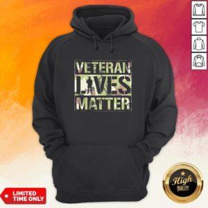 Good Veteran Lives Matter Classic Hoodie