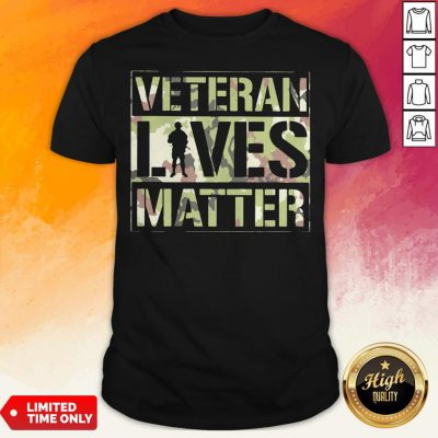 Good Veteran Lives Matter Classic ShirtGood Veteran Lives Matter Classic Shirt