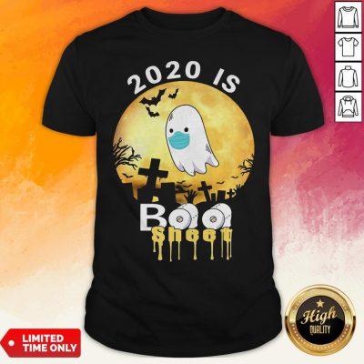 Halloween 2020 Is Boo Sheet Ghost Moon Shirt
