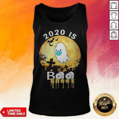 Halloween 2020 Is Boo Sheet Ghost Moon Tank Top