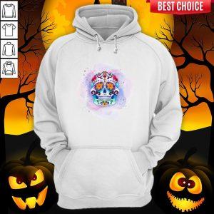 Happy Dia De Los Muertos Day Dead Sugar Skull Hoodie