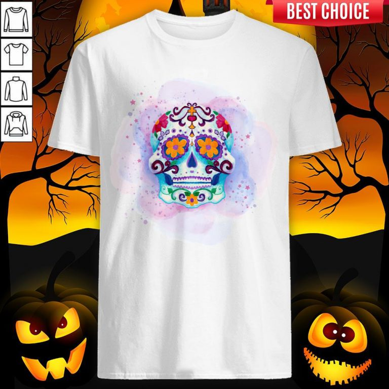 Happy Dia De Los Muertos Day Dead Sugar Skull Shirt