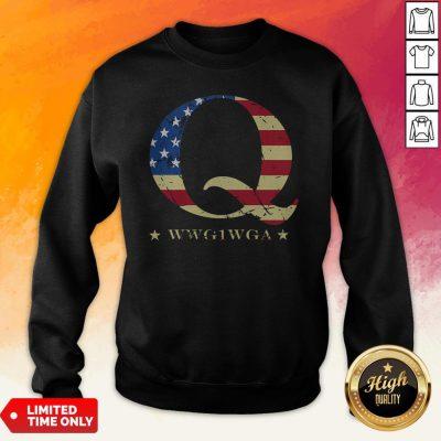 Happy Independence Day Q Wwg1Wga Sweatshirt