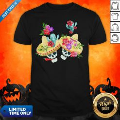 Happy Mexican Holiday Sugar Skull Day Of Dead Shirt
