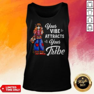 Hippie Girl Your Vibe Attracts Your Tribe Tank Top