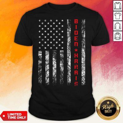 Joe Biden Kamala Harris American Flag Shirt