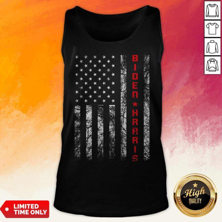 Joe Biden Kamala Harris American Flag Tank Top