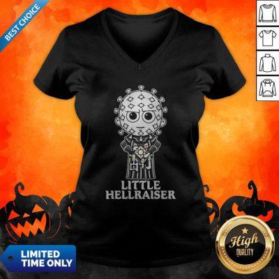 My Little Pinhead Hellraiser Halloween Horror V-neck