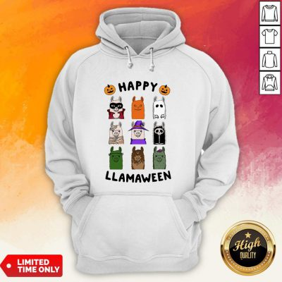 Nice Happy Llamaween Camel Halloween Hoodie