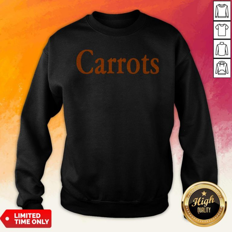Nice Orange Carrots Sweatshirt